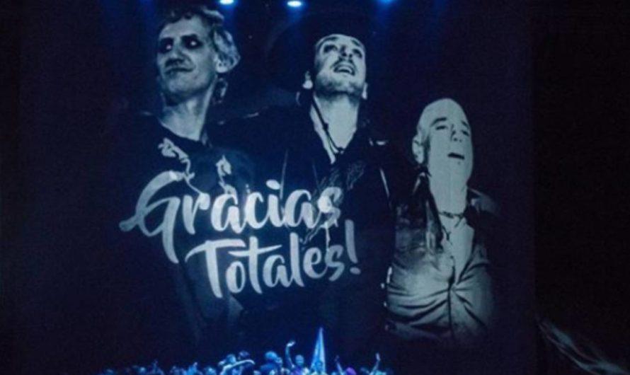 «Gracias Totales»: Soda Stereo debutó en Bogotá