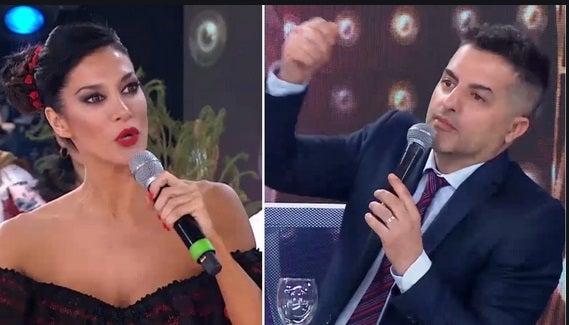 Silvina Escudero «arrugó» con Ángel de Brito y él la trató de mentirosa