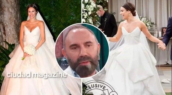 ¿El gran vestido de novia que usó Pampita era copiado?