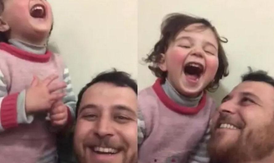 Cuando la realidad supera a la ficción: un padre sirio finge ante su hija que las bombas son un juego para protegerla