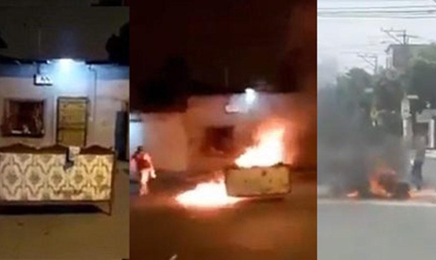 Un infierno: familias queman en las calles a sus muertos por coronavirus
