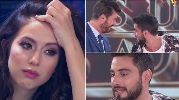 Occhiato le hizo una fuerte confesión en vivo a Flor Vigna, su exnovia