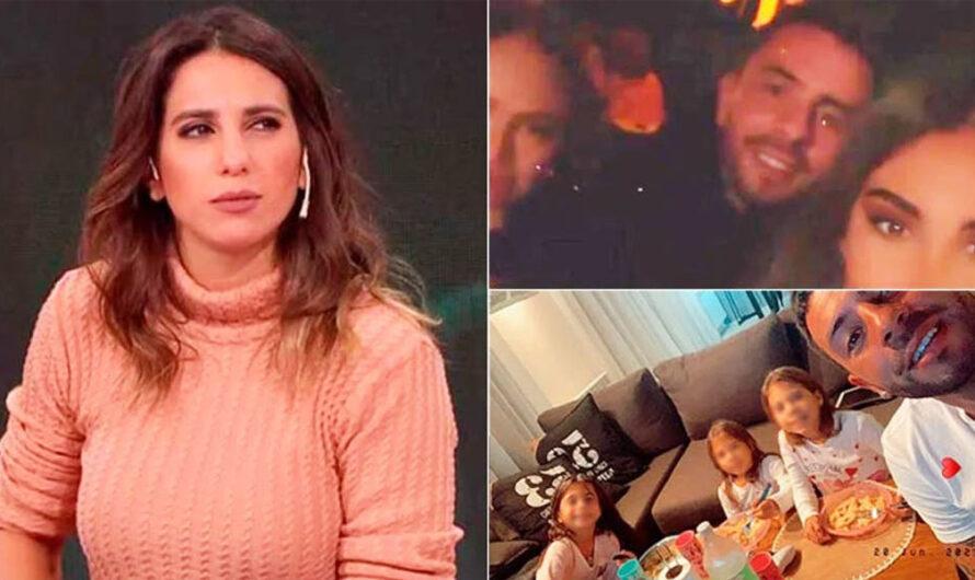 Cinthia, furiosa con su ex al verlo «de fiesta»: «Por eso no podía llevarlas al colegio… No se podía levantar. ¡Feliz Día del padre!»