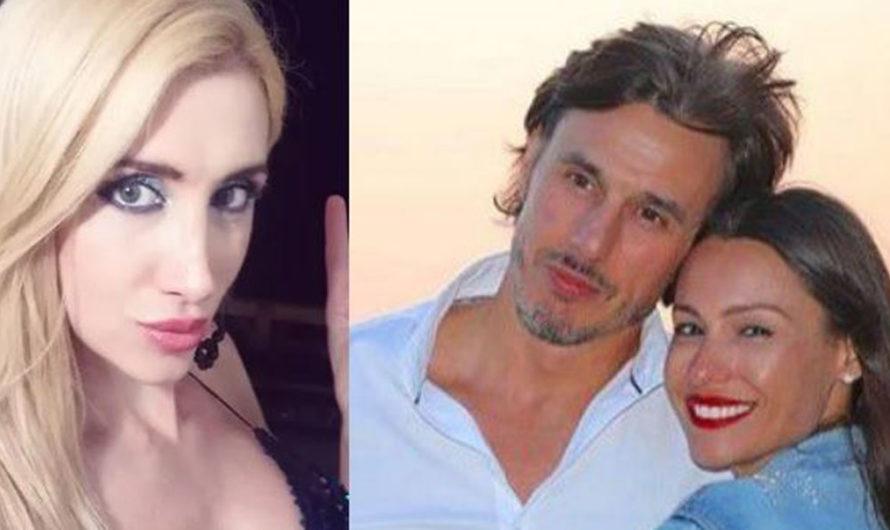 Revelaron qué decían los chats privados entre el marido de Pampita y la actriz trans