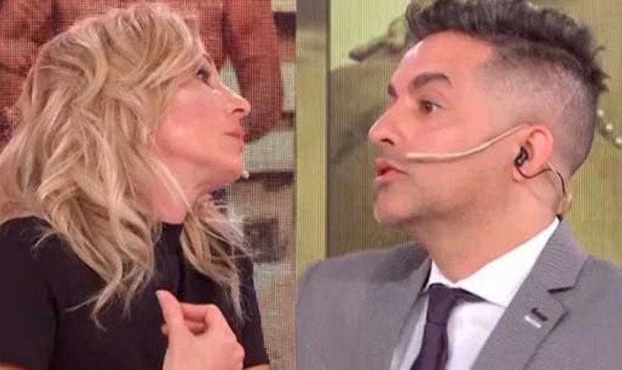 Todo mal: en vivo, Ángel de Brito amenazó a Yanina Latorre con despedirla