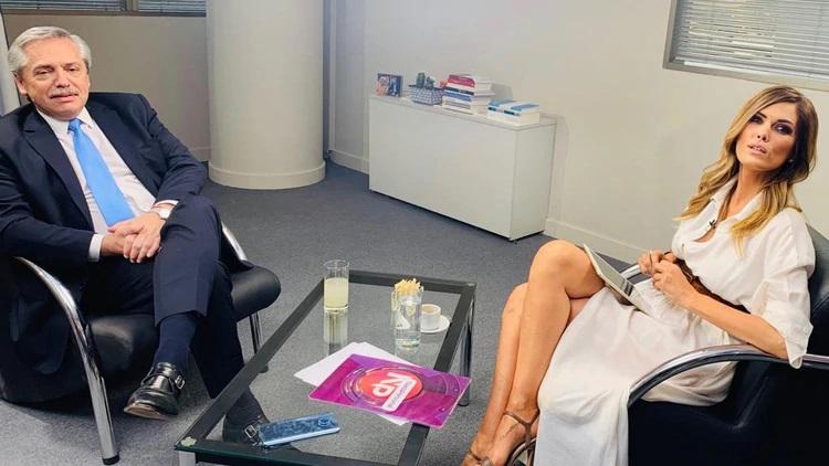 Canosa contó cómo superó el cáncer, y habló de los rumores que la vinculan con Alberto Fernández