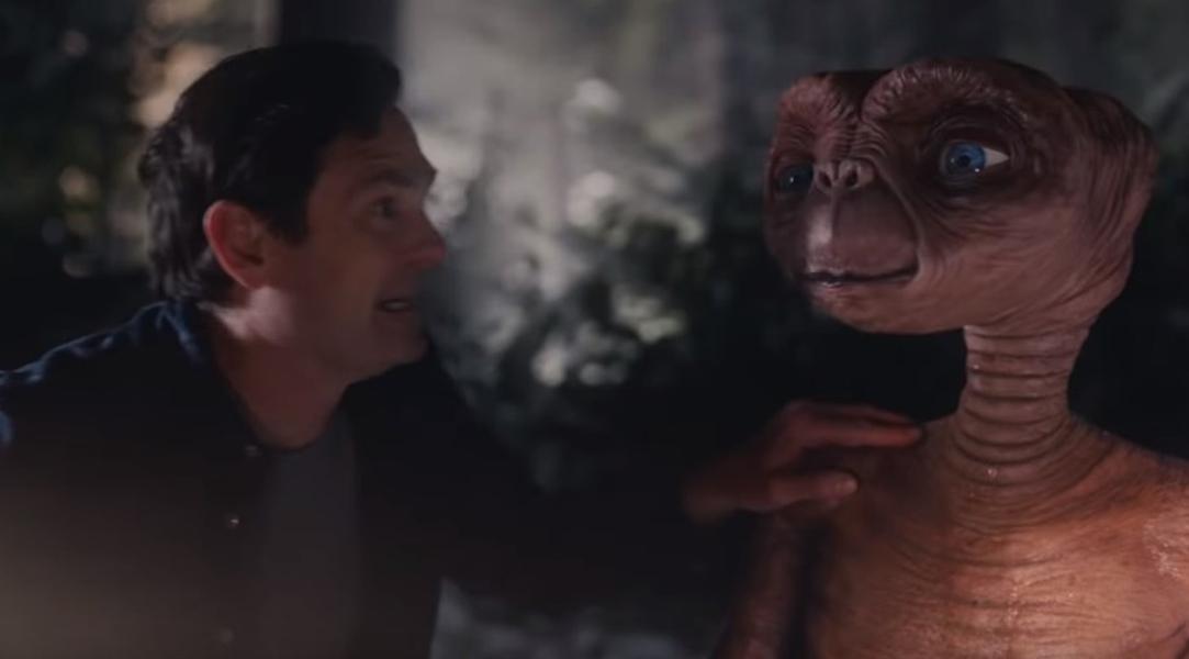 E.T. se reencontró con Elliot casi 37 años después