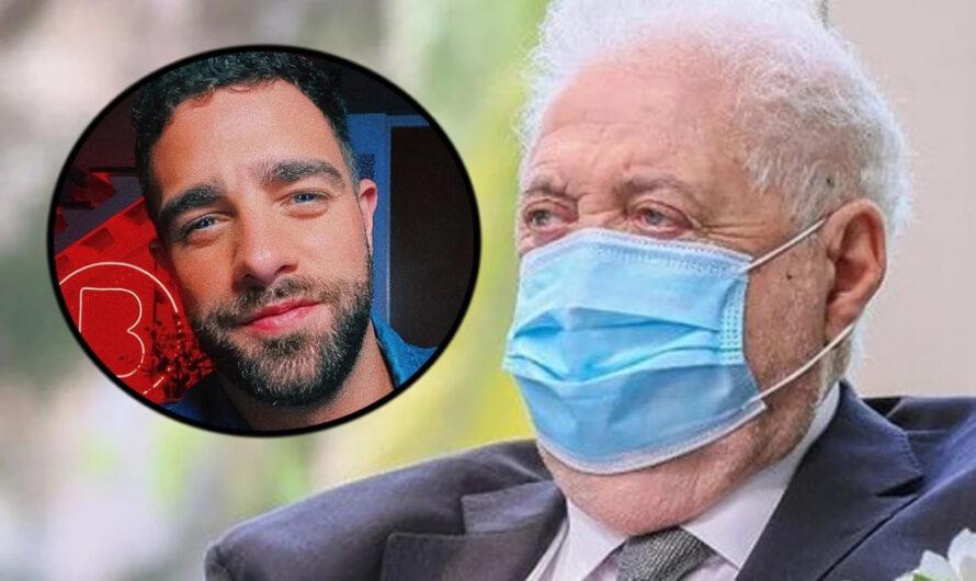 El polémico gesto de Ginés González García contra el periodista Diego Poggi