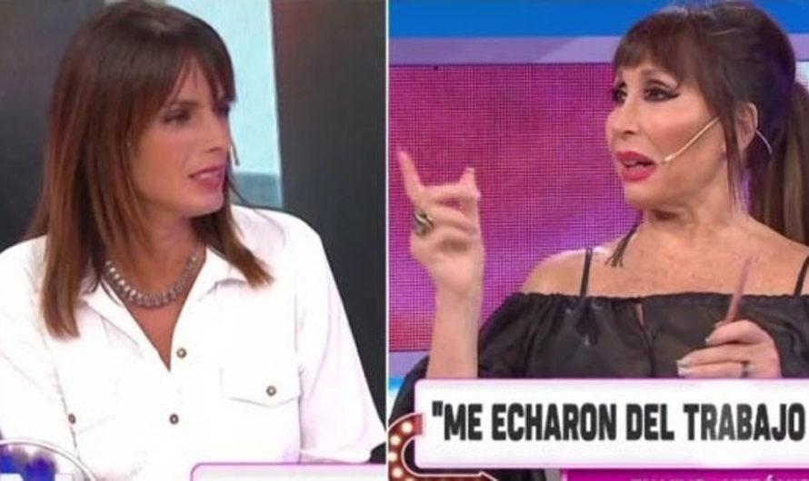 La picante pregunta sin filtro de Moria Casán a la ex de Sergio Denis