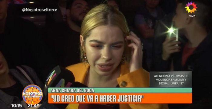 Anna Chiara del Boca llevará a la Justicia a su padre por abuso sexual