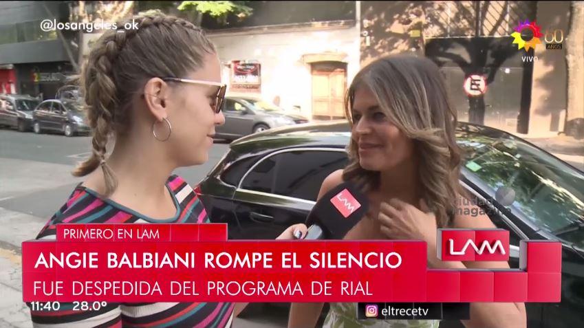 Angie Balbiani rompe el silencio: las verdaderas razones de su salida de Intrusos «fue una cag…»