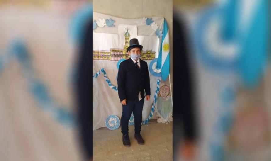 Pequeños de Gatica festejaron un nuevo aniversario de la Revolución de Mayo