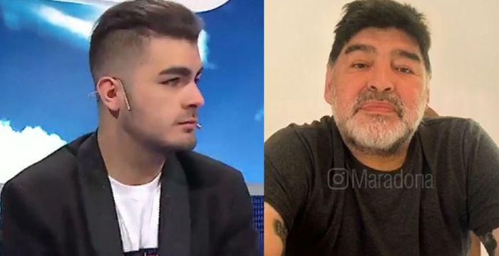Santiago Lara, cada vez esta más cerca de saber si también es hijo de Diego Maradona