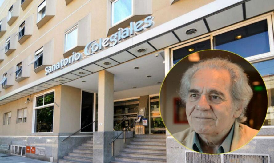 El Sanatorio reveló la causa de la muerte del actor Hugo Arana