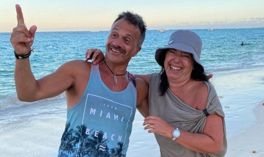 "La esposa de Sergio Lapegüe habló sobre la salud del periodista: ""Pasó…"" [FOTO]"