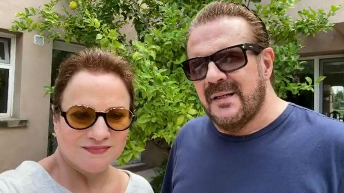 Mirá el emotivo video de Lucía y Joaquín Galán tras la muerte de su madre