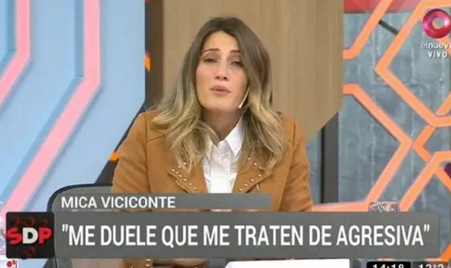 Mica Viciconte rompió en llanto tras la versión de maltratar a las hijas de Nicole Neumann: Mirá el video