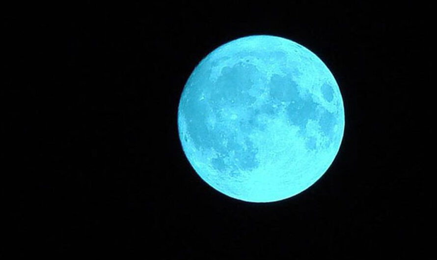 Qué es el fenómeno «luna azul» que se verá en Argentina el 31 de octubre, «noche de Halloween»