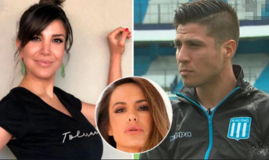 Andrea Rincón difundió los mensajes que recibió de Jonathan Cristaldo