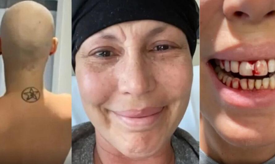 Celina Rucci mostró las imágenes de su lucha contra la leucemia