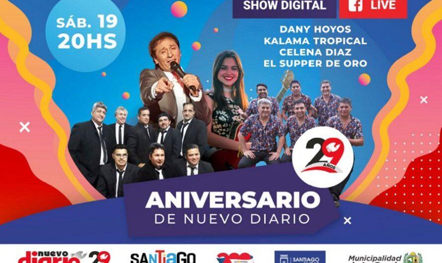 Reviví el Show aniversario de Nuevo Diario: lo viviste por las plataformas del Multimedio
