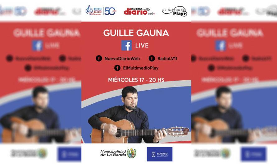 Guillermo Gauna traerá lo mejor de la música de Santiago a través de las redes del Multimedio