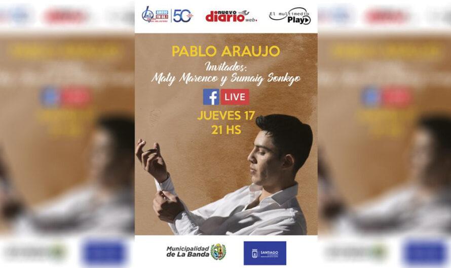 Reviví el inolvidable Show de Pablo Araujo a través de las plataformas del Multimedio
