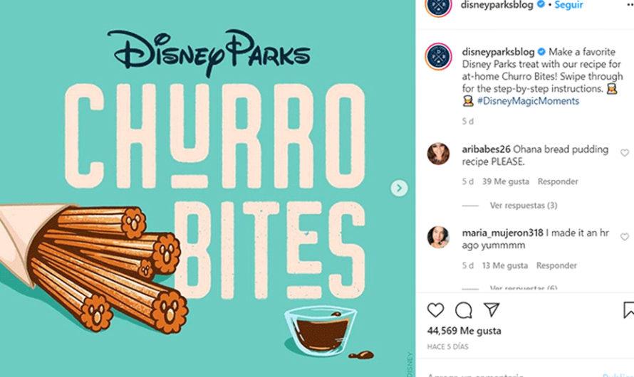 [VIDEO] Disney reveló la receta original de los churros que venden en los parques por la cuarentena