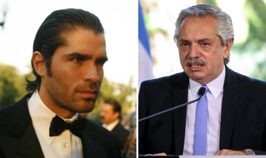 Eduardo Verástegui llamó «genocida» a Alberto Fernández, por el aborto