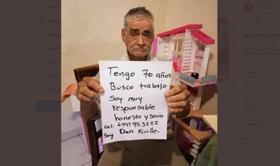 Don Guillermo tiene 70 años y busca un trabajo para poder jubilarse: el viral que dio vuelta al mundo