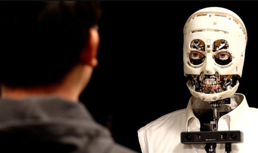 Disney creó un robot humanoide que sigue a las personas con la mirada