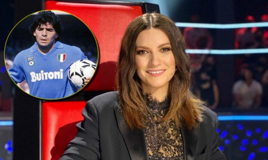 Laura Pausini criticó la cobertura de la muerte de Diego Maradona