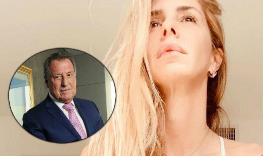 Con dolor y orgullo, la hija de Jorge Brito despidió a su papá