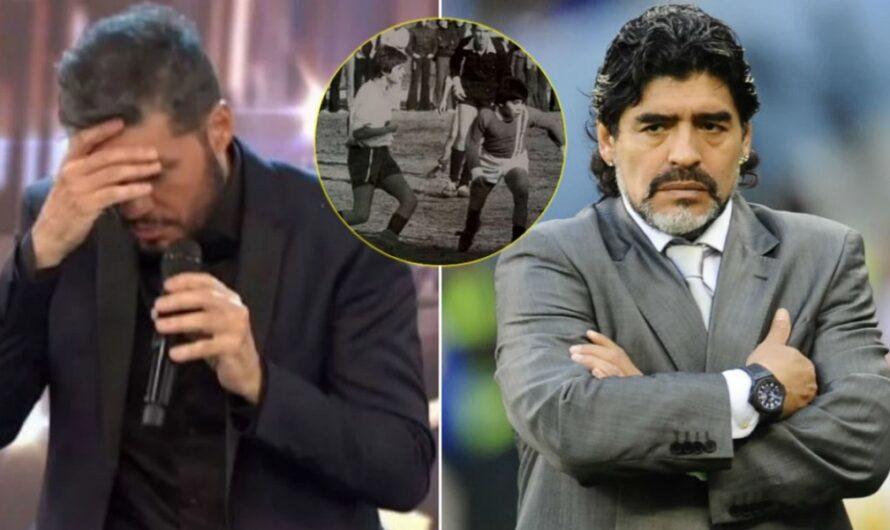 Escándalo por una falsa foto de Marcelo Tinelli y Diego Maradona