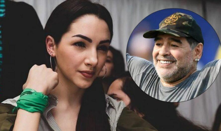Thelma Fardin despidió a Diego Maradona y criticó a las feministas