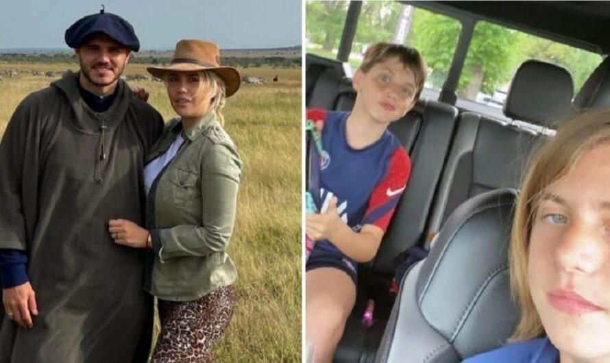 Wanda Nara tuvo que salir a explicar por qué no llevó a sus hijos en su viaje a África con Mauro Icardi
