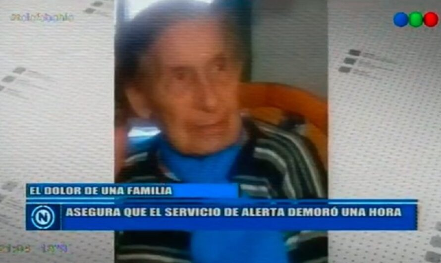 """Denunciaron a un servicio de emergencias porque """"dejó morir"""" a una anciana [VIDEO]"""