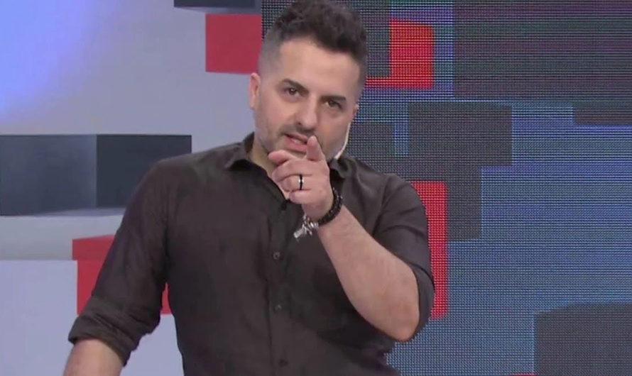"""Ángel de Brito se enojó con la producción de LAM en pleno vivo: """"Qué difícil es este programa"""""""