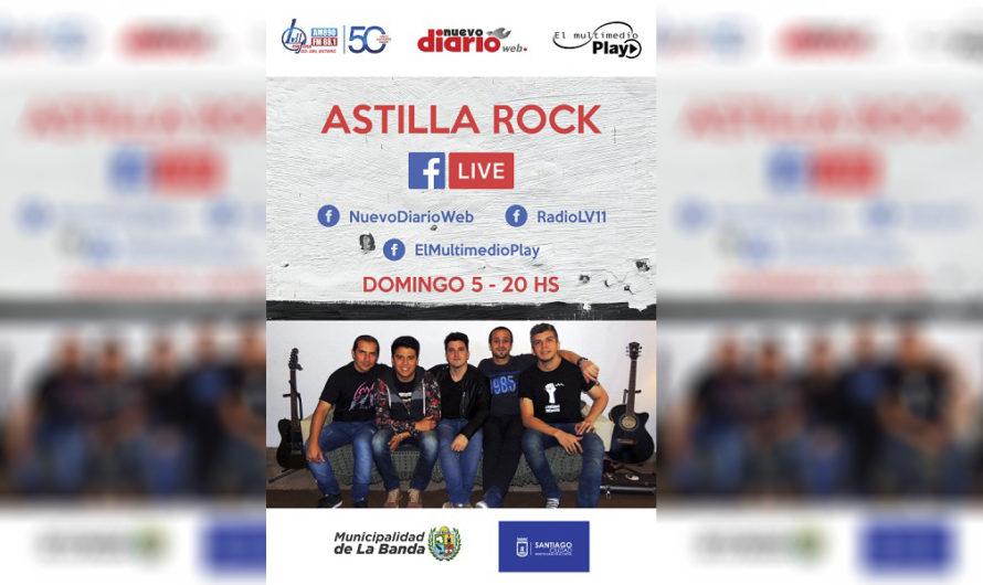 Astilla Rock y lo mejor del género, en la intimidad de tu casa