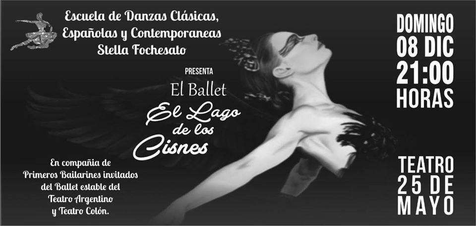 """La escuela de danzas de Stella Fochesato  cierra el año lectivo con """"El Lago de los Cisnes"""""""