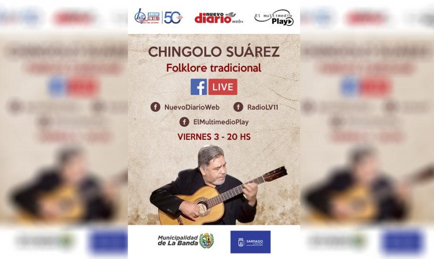 """""""Chingolo"""" Juárez y lo mejor del folclore tradicional a través del Multimedio"""
