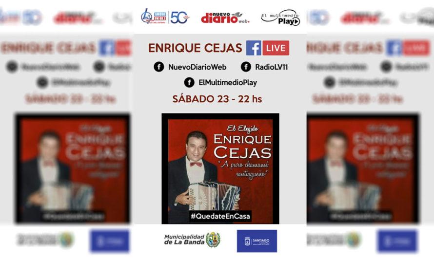 Enrique Cejas te invita a disfrutar de lo mejor del chamamé desde tu casa