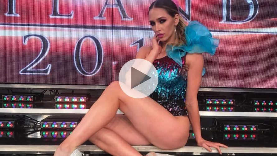 TERRIBLE VIDEO: Belén Pouchan hizo una acrobacia que terminó muy mal