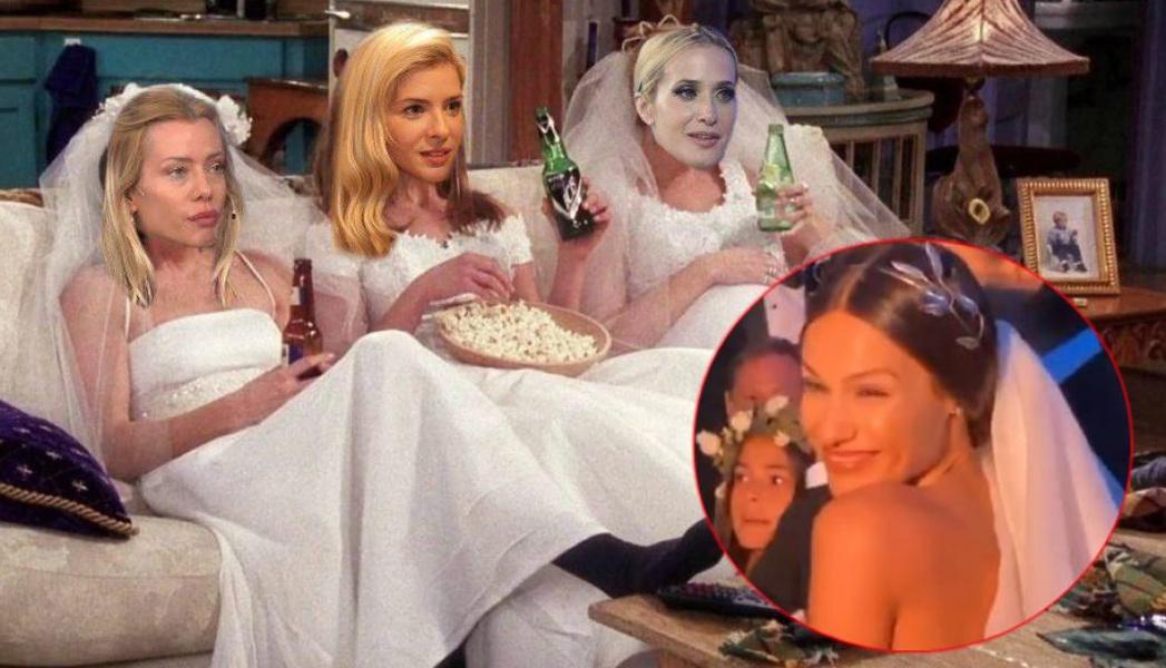 Pampita se casó y los memes coparon las redes sociales