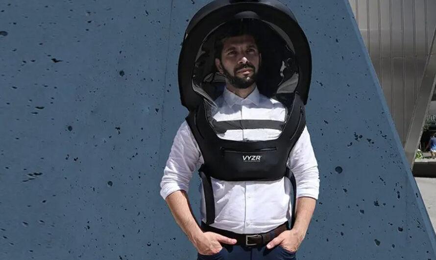 El casco tipo astronauta para evitar el Covid-19