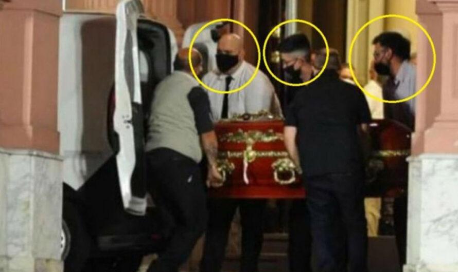 Citaron a declarar a los que se sacaron fotos con Maradona muerto