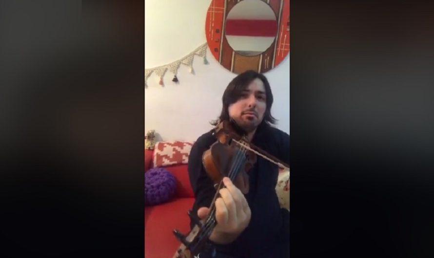 VIDEO: Benjamín Chazarreta compartió sus mejores temas esta noche