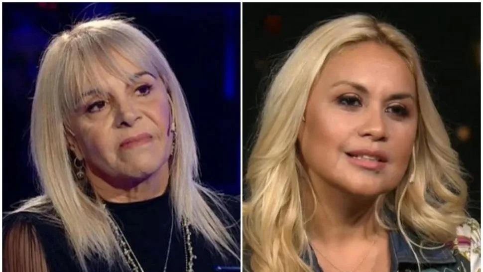 El fuerte ida y vuelta entre las ex de Maradona, Claudia Villafañe y Verónica Ojeda