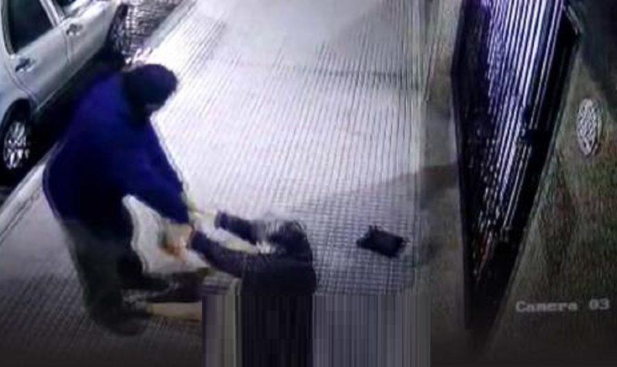 El ataque más cobarde: le pegó una piña a una abuela que volvía de hacer las compras