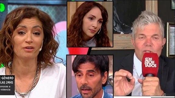 """Carla Conte debatió con Burlando y se desubicó: """"es el lugar donde Darthés decidió violarla"""""""